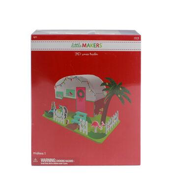 Little Makers 3D Christmas Trailer Kit