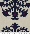Robert Allen @ Home Upholstery Swatch 56\u0022-Top Motif Berry Crush