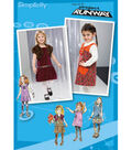 Simplicity Pattern 2574AA 1/2 1 2 3 -Simplicity Toddlers