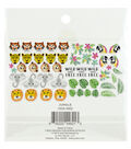 Park Lane Washi Flakes 51/Pkg-Jungle