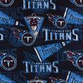 Tennessee Titans Fleece Fabric-Retro