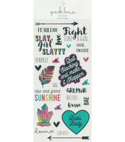 Park Lane Paperie 28 pk Stickers-Girl Power, , hi-res
