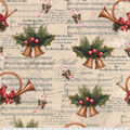 Christmas Cotton Fabric-Jingle Bell Time