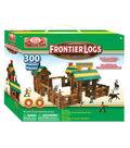 Ideal Frontier Logs Classic Wood 300-Piece Construction Set
