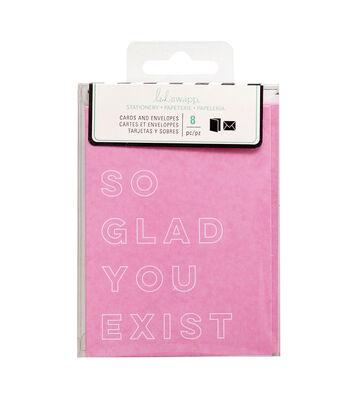 "Heidi Swapp Stationery 3""x4""-So Glad"