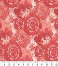 Keepsake Calico Cotton Fabric 44\u0027\u0027-Scarlet Tie Dye