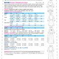 Kwik Sew Pattern K4156 Misses\u0027 Peasant Dresses & Sash-Size XS-XL
