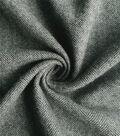 Sportswear Reversible Herringbone Fabric 57\u0022-Black & Gray