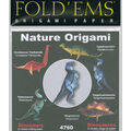 Fold \u0027Ems Origami Paper 6\u0022x6\u0022 21/Pkg-Dinosaurs