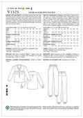 Mccall Pattern V1323 16-18-20-2-Vogue Pattern