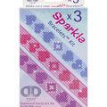Diamond Dotz Diamond Bracelets Facet Art Kit 1\u0027\u0027X9\u0027\u0027-Assorted Love 3/Pkg