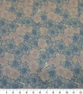 Quilter\u0027s Showcase Cotton Fabric-Lined Flowers Lavender Blue