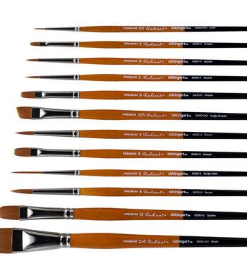 KINGART Radiant Brush Set 12/Pkg