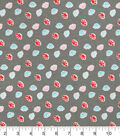 Snuggle Flannel Fabric 42\u0027\u0027-Stamped Paws