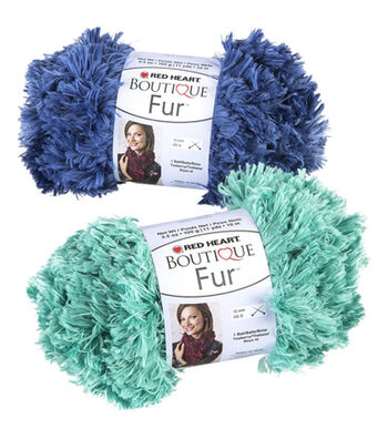 Red Heart Boutique Fur Yarn