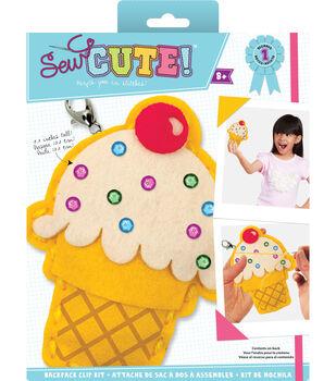 Sew Cute! Mini Ice Cream Cone Felt Kit