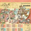 Graphic 45 Double-Sided Paper Pad 8\u0022X8\u0022 24/Pkg-Imagine