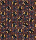 Marvel Black Panther Cotton Fabric-Badge