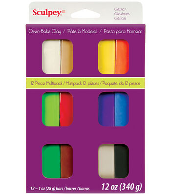 Sculpey III Multi Packs-Classics