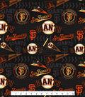 San Francisco Giants Cotton Fabric -Vintage