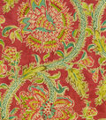 Waverly Lightweight Decor Fabric 54\u0022-Holi Festival/Jewel