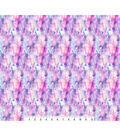 Novelty Cotton Photo Real Fabric -Pastel Space