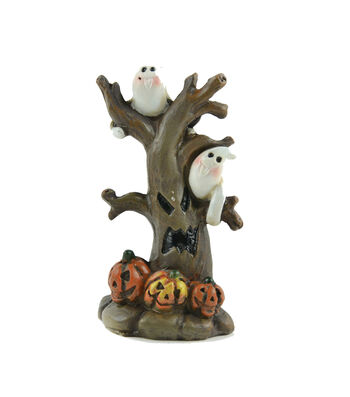 Maker's Halloween Littles Spooky Tree with Ghosts