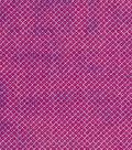 Modern Cotton Fabric 43\u0027\u0027-Pink Dotted Diamonds
