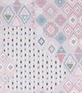 Anti-Pill Plush Fleece Fabric-Aztec Geo