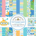 Doodlebug Double-Sided Paper Pack 12\u0022X12\u0022-Anchors Aweigh