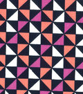 Quilter\u0027s Showcase Fabric -Desert Flower & Navy Geometric