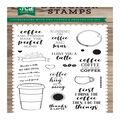 Echo Park Paper Company 23 pk Designer Stamps-Coffee & Friends