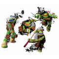 York Wallcoverings Peel & Stick Wall Decals-TMNT in Action