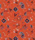 University of Virginia Cavaliers Cotton Fabric -Bandana