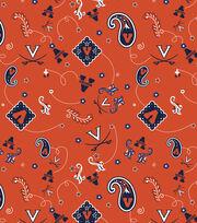 "University of Virginia Cavaliers Cotton Fabric 43""-Bandana, , hi-res"