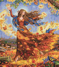 Dimensions Gold Collection Counted Cross Stitch Kit Fall Fairy