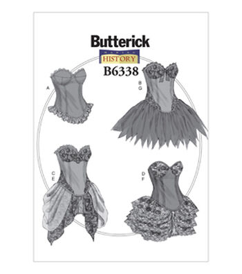 Butterick Misses Historical Costumes-B6338