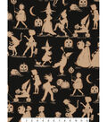 Halloween Cotton Fabric 45\u0022-Halloween Lane