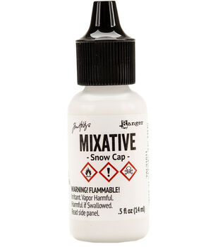 Snow Cap -alcohol Ink Mixative