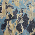 Brocade Fabric-Whispering Vine Floral Gold