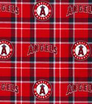 Los Angeles Angels Flannel Fabric-Plaid, , hi-res