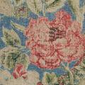 Waverly Upholstery Fabric 13x13\u0022 Swatch-After Glow Indigo