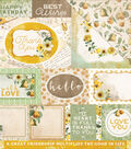 Golden Grove Double-Sided Cardstock 12\u0022X12\u0022-Thoughtful