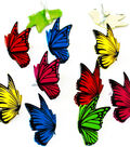 Eyelet Outlet Shape Brads-Flying Butterflies