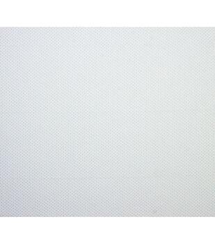 Super Snuggle Flannel Fabric-White & Blue Dot