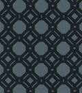 P/K Lifestyles Upholstery Fabirc-Level Off/Charcoal Swatch