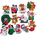 Design Works Felt Applique Kit Lots Of Kittens Ornaments