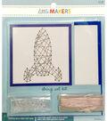 Little Makers String Art Kit-Rocket