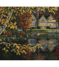 Plaid Creates Classic 16\u0027\u0027x20\u0027\u0027 Paint by Number Kit-Autumn Reflections