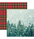 Christmas Spirit Double-Sided Cardstock 12\u0022X12\u0022-Winter Wonderland